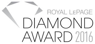 Royal Lepage - Diamond Award 2016